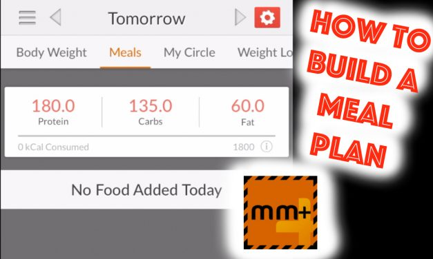 How to build a meal plan using macros (video)