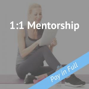 1 on 1 Mentorship